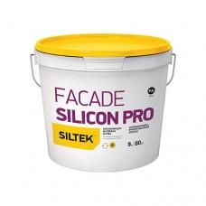 Фарба Siltek Facade Silicon Pro силіконмодифікована преміум-класу. База FА (9 л)